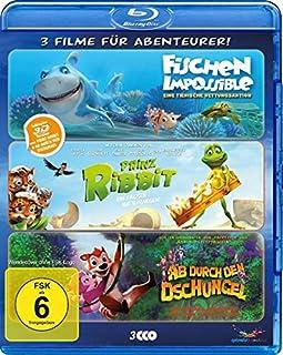 Abenteurer-Box - Fischen Impossible/Prinz Ribbit/Ab durch den Dschungel [3D Blu-ray]