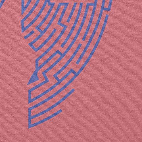 TEXLAB - Triforce Labyrinth - Damen T-Shirt Pink