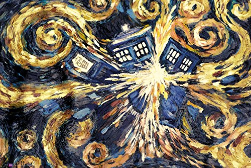 GB eye LTD, Doctor Who, Exploding Tardis, Maxi Poster, 61 x 91,5 cm