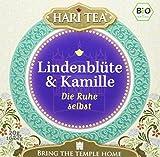 Hari Tea Die Ruhe selbst / Bleib entspannt und genieße Lindenblüten & Kamille, 2er Pack (2 x 20 g) - Bio