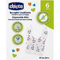 Chicco 00067440010000 Bavaglini Monouso, Multicolore