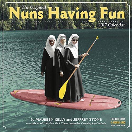 nuns-having-fun-wall-calendar-2017