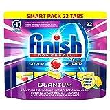 Finish Quantum Citrus, Spülmaschinentabs, Smartpack, 22 Tabs