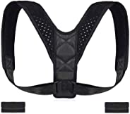 Poseimet Posture Corrector for Men and Women, adjustable Upper Back Brace for Clavicle Support, Providing Pain Relief from Ne