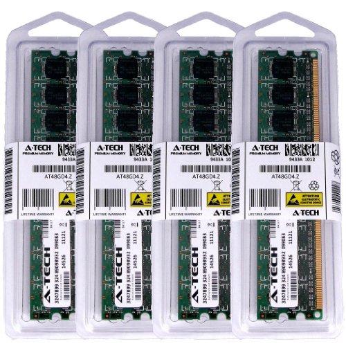 16GB KIT (4x 4GB) für MSI Motherboard 785gt-e63790x t-g45KA780GM ka780gm-m ms-7512P45neo2-fr Platinum HC Edition. DIMM DDR2Non-ECC PC2–6400800MHz RAM Speicher. Original a-tech Marke.