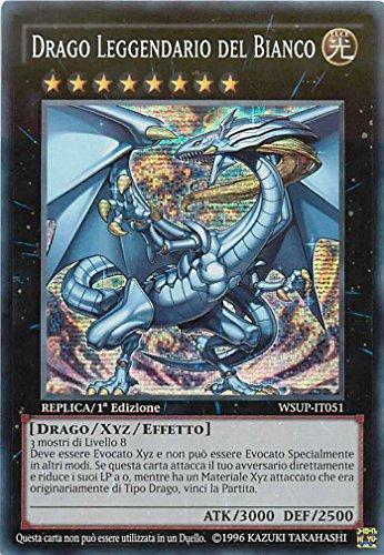 Yu-Gi-Oh! Drago Leggendario del Bianco - Superstar Mondiali - WSUP-IT051 - 1° Edizione - SEGRETA