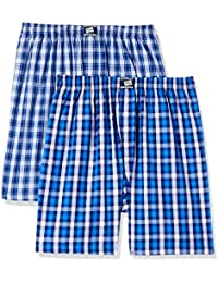 Hanes Men's Checkered Boxers (Pack of 2)