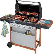 Campingaz 4 Series Woody L, Grill Barbecue a Gas, Nero