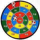 Land-Haus-Shop® Klettscheibe Klett Wurf Ziel Scheibe Spiel Wurfspiel Zielscheibe Sicherheitsscheibe Bälle 1 von 4 (Wurfscheibe Ø 36cm)