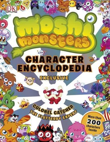 Image of Moshi Monsters Character Encyclopedia