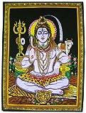 Sophia Art Gott Shiva Gemälde Pailletten Indischen Religiösen Nethara Wand Medium Poster 106,7x 76,2cm