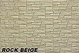 15 m² EPS Dekorsteine Wand Steinplatten Bruchsteine Riemchen, ROCK BEIGE