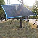 Sonnensegel Sonnenschirme Pavillons Markisen Markise Sonnenblende Meaty Shade net Verschlüsselung Shading Rainproof Wrap Around Es gibt EIN Loch alle 1 Meter