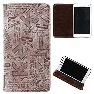 DooDa PU Leather Flip Case Cover For Asus Zenfone 2 Lazer ZE500 KL