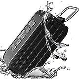Altavoz Bluetooth, Techvilla Portátil Inalámbrico Altavoces Bluetooth, Resistente al Agua, al Polvo y a los Golpes, Subwoofer, 10 Horas de Emisión Continua Para los Móviles de Android y de iPhone, Tablets, Ordenadores, Soporte para Deportes al Aire Libre
