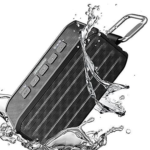 Enceinte Velo - Enceinte Bluetooth Étanche, Haut Parleur Portable sans