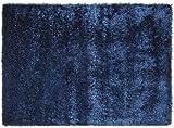 ESPRIT New Glamour Moderner Markenteppich, Polyacryl/Polyester, Blau, 160 x 90 x 4 cm