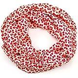 SCHLUSSVERKAUF: ManuMar Loop-Schal für Damen   Hals-Tuch als perfektes Sommer-Accessoire   Schlauch-Schal - Das ideale Geschenk für Frauen zum Valentinstag