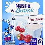 NESTLE P'tit Brassé Framboise - 8 x 100g
