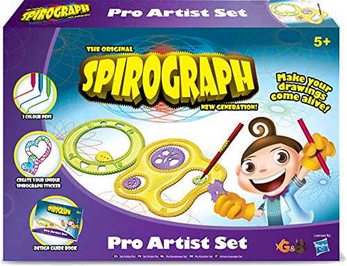 The Original Spirograph New Generation Spirograph Pro Artist Set
