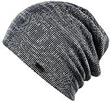 Feinzwirn Perth - Trendige leichte Mütze für Damen und Herren - Unisex (darkblue/weiß)