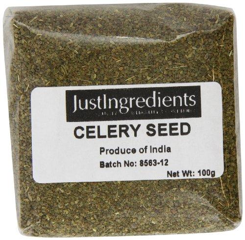 JustIngredients Essential Selleriesamen, Celery Seeds, 5er Pack (5 x 100 g)