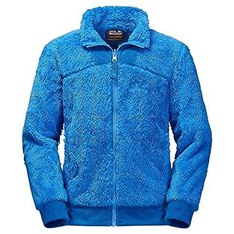 Jack Wolfskin Jungen POLAR BÄR Pullover 11 Jahre blau (brilliant blue)