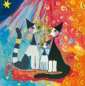 Châssis: tableau -rosina wachtmeister we want to be together 40 x 40 cm
