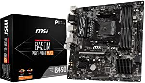 Msi B450m Pro Vdh Max Amd Am4 Ddr4 M 2 Usb 3 2 Gen 2 Computers Accessories