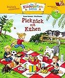 Picknick mit Kühen - Buch mit Hörspiel-CD: Englisch entdecken - Die Kindergartenbande , Englisch