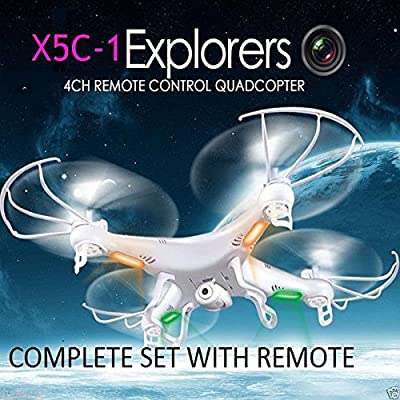 Sedeta Upgraded X5C-1 Drone with 1080P Camera,Headless Mode,One Key Return,Christmas Gifts for Kids Boys