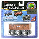 Railroad - Wooden Car Collection - Stock Car No7
