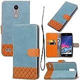 Motorola Moto G5 Leather Wallet Case With Grip, Codream Motorola Moto G5 Flip Cover, Grip, Durable Case (Blue)