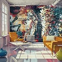 murando - Fotomural 250x175 cm - Papel tejido-no tejido - Papel pintado - Graffiti Indio Abstraccion f-C-0125-a-b