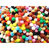Lovely Arts Collection Woolen Pom Pom Balls - LAC38_2 cm - 100 Pieces