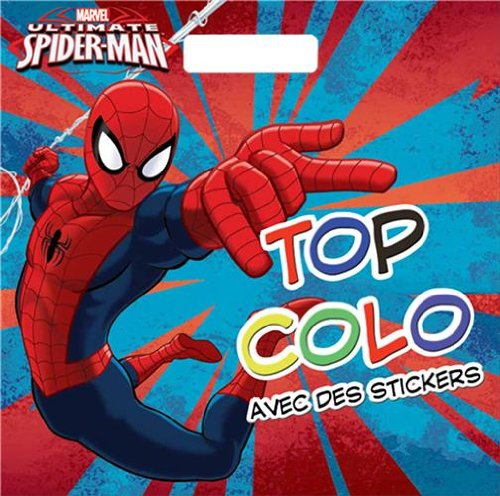 Ultimate Spiderman : Avec des stickers