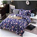 #10: Renzo Cathy Ashley 235x255CMS Durable Ac Comforter New Model High Quality Ac Comforter Double Bed Traditional Traditional Renzo Ac Comforter With Bed Sheets & 46x69 - 2 Pillow cases+1 duvet cover 225*250CMS Cotton Cotton(All Season Ac Comforter)