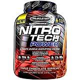 Muscletech Nitrotech Power Triple - 1.8 kg (Chocolate Supreme) at amazon