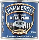 Hammerite Metallfarben-glatte 250ml Silber