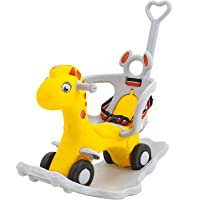 GoodLuck Baybee Baby 2 in 1 Horse Rider-Kids Ride On Push Car Toy Car Rider Babies Toy Toddler Baby Rocker seat Toys 1-3…