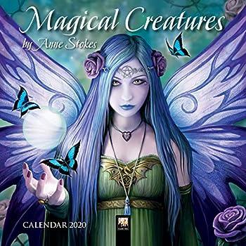Magical Creatures by Anne Stokes 2020 Calendar