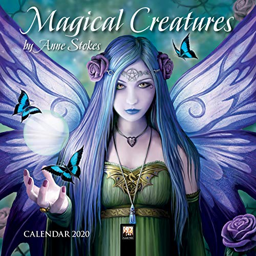 Magical Creatures by Anne Stokes Mini Wall Calendar 2020 (Art Calendar) par  Flame Tree Publishing