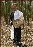 Medieval Tabard Ajedrez, varios colores–túnicas–Camisa del Jinete–Azul/Amarillo