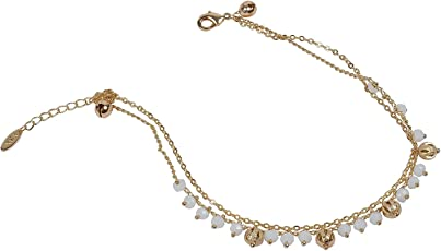 Much More Key Lock Gold Plated 1 Pair Anklet/Payal Women