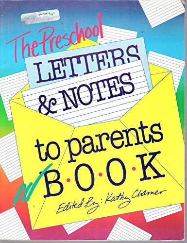 The Preschool Letters and Notes to Parents Book