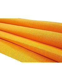 Raymonds Men's Jute Unstitched Shirt Fabric(Saffron, KSH-RAY-SH-JUTE-09)