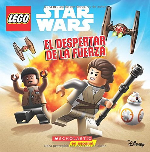 El despertar de la Fuerza: Episode VII (LEGO Star Wars: 8x8) (Spanish Edition)