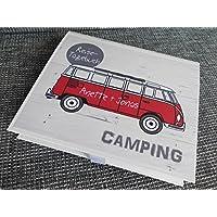 Camping-Reise-Tagebuch mit Bulli
