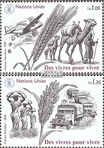 Prophila Collection UNO - Genf 528-529 (kompl.Ausg.) 2005 Nahrung ist Leben (Briefmarken für Sammler) Säuger Sonstige