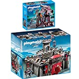 Playmobil Knights 2er Set 6001 6628 Falkenritterburg